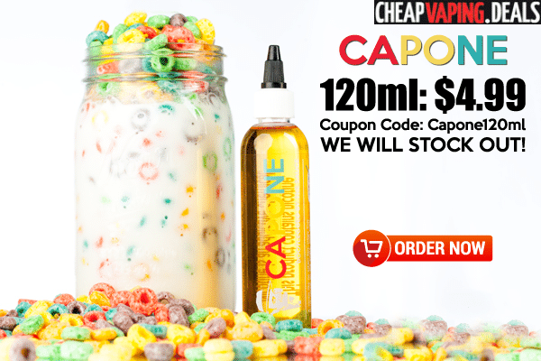TheSauceLA: Capone E-Juice - 120ml Only $4.99
