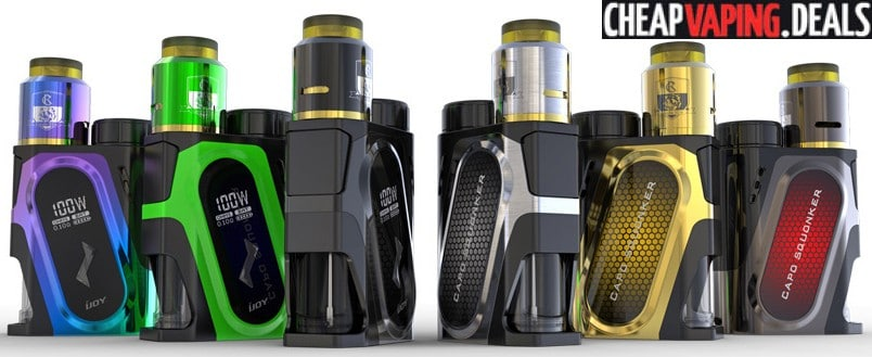 Us Store Ijoy Capo Squonker Box Mod W Battery 24 65