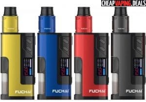 Sigelei Fuchai Squonk 213 150W Box Mod RDA Kit $45.87