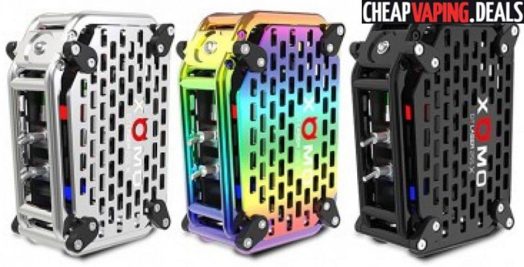 Xomo Gt Laser 255x 150w Box Mod 97 99 Cheap Vaping Deals