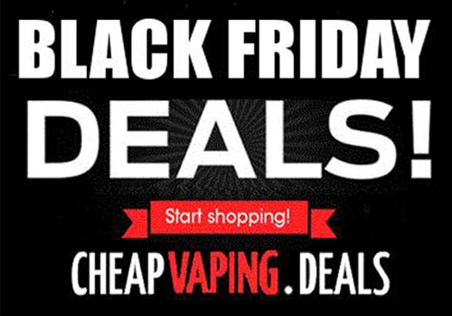 black friday 2018 ads sales coupon codes cheap vaping deals. Black Bedroom Furniture Sets. Home Design Ideas