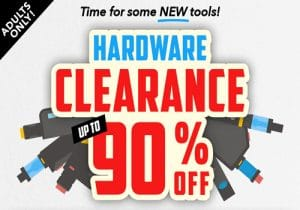 Breazy: Up to 90% Off Hardware Clearance