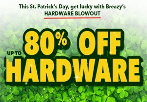 Breazy St. Patrick's Sale: Up To 80% Off Hardware & Extra 10% Off & 20% Off All E-Liquids