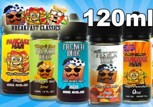 Vape Breakfast Classics E-Juices $6.79/120ML