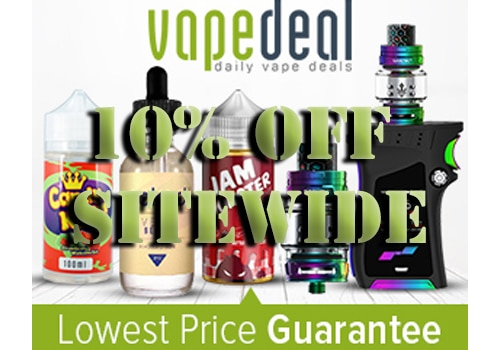 vapedeal com 10 off sitewide lowest usa prices international