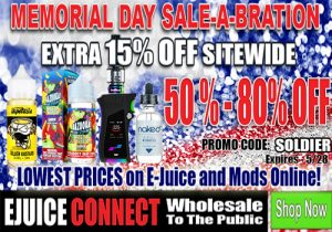 Ejuice Connect: 15% Off Sitewide - Unbeatable Prices
