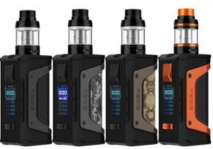 Geekvape Aegis Legend 200W Waterproof Mod Kit $30.80