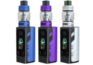 US Store: IJoy Captain X3 324W Triple 20700 Box Mod Kit w/ Tank & 3 Batteries Included $42.50