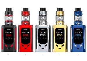 Smok R-Kiss 200W Mod Kit w/ TFV8 Mini V2 Tank $34.88