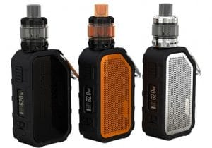 Wismec Active Mod  & Bluetooth Speaker $39.54 | Kit w/ 4.5ML Amor NS Tank $54.90