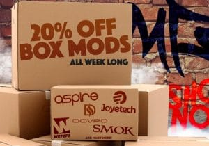 MyFreedomSmokes: 20% Off All Box Mods & Box Mod Kits