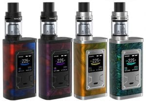 US Store Blowout: Smok Majesty 225W Resin Box Mod Kit w/ Tank $25.00