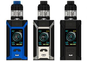 Wismec Sinuous Ravage230 200W TC Kit & 5 Free Coils $13.99 (USA)