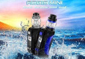 Geekvape Aegis Mini Mod Kit 80W w/ 5.5ml Cerburus Tank $42.90