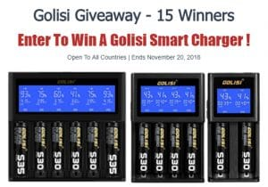 Giveaway: 15 Golisi Smart Chargers