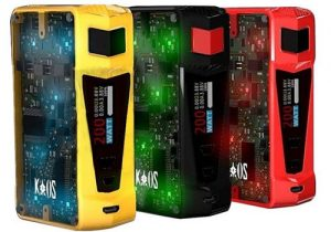 Sigelei Kaos Z 200W LED TC Box Mod $8.99 (USA)