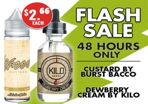 VapeDeal.com: $2.66/30ML Premium E-Juice Flash Sale (New Juices!) | 10% Off Sitewide