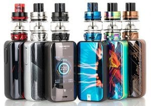 Vaporesso Luxe 220W Touch Screen Mod $18.99 | Mesh Kit $29.99 (USA)