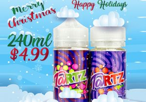 US Store Blowout: Tartz 200ML E-Liquid Bundle $4.99