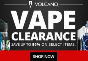 VolcanoEcigs: Up To 80% Off E-Juice/Hardware Clearance Sale