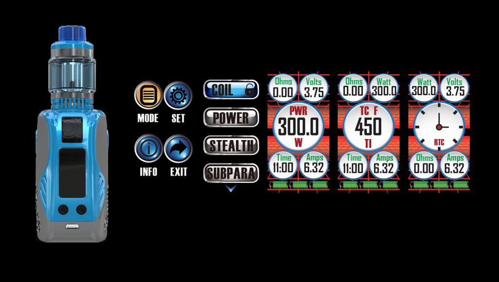 Wismec Reuleaux Tinker 300W Mod $34 30 - Cheap Vaping Deals