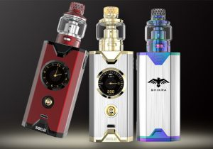 Sigelei Chronus Shikra 200W Mesh Edition Kit $14.31