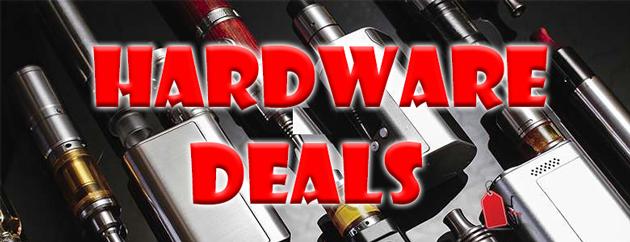 Best Hardware, Mod, Tank & Starter Kit Deals - Cheap Vaping