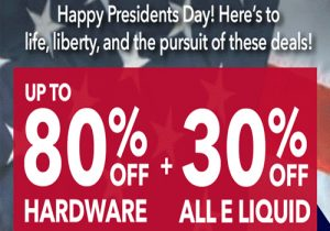 Breazy: Up To 80% Off Hardware & Extra 10% Off | 30% Off All e-Liquids