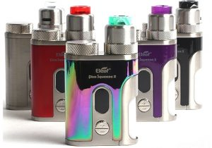 Eleaf iStick Pico Squeeze 2 100W Squonk RDA Kit & Free Battery 18.99 (USA)