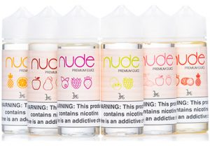 Exclusive Deal! Nude E-Juices: $4.99/120mL (USA)