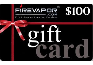 Winner Announced! GiveAway: $100 FireVapor Gift Card
