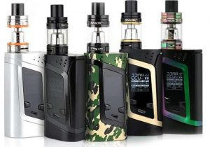 Smok Alien 220W Box Mod Kit w/ Tank $27.81