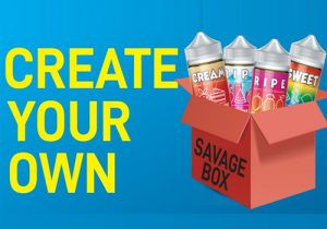 Create Your Own Savage E-Liquid Box - $11.99/300mL