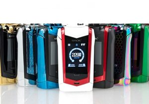 Smok Species 230W Touchscreen Mod $25.50 (USA) | Kit $36.99 (China)