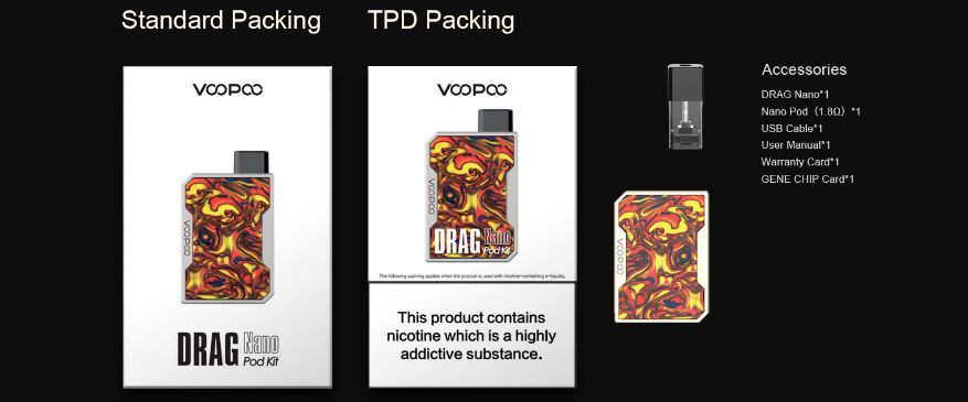 Exclusive: Voopoo Drag Nano Pod System Kit $16 00 (USA) - Cheap