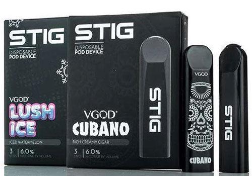 3 x VGOD STIG Disposable Pod Devices $11 99 (USA) - Cheap Vaping Deals