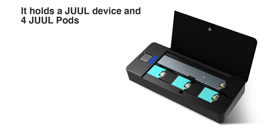 Wellon Pandora Smart Portable JUUL Charger Box $31 49