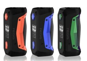 GeekVape Aegis Solo 100W Waterproof Box Mod $25.83 (China) | $29.22 (USA)