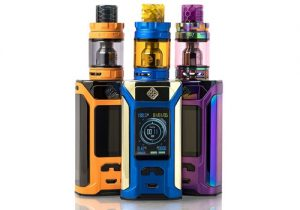 Wismec Sinuous Ravage230 200W TC Mod Kit w/ Tank $17.00 (USA)