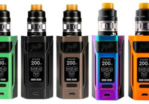 Wismec Reuleaux RX2 20700 200W Mod Kit w/ Tank $16.99 (China) | $19.99 (USA)