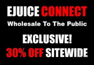 Ejuice Connect Exclusive: 30% Off Sitewide - Below Wholesale Prices