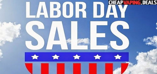 Last Chance! Labor Day Vape Deals, Sales & Coupon Codes