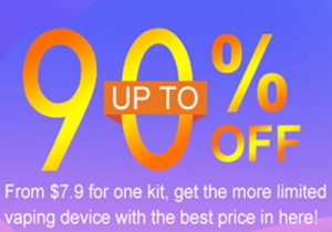 Vapersourcing: Up To 90% Off Clearance Sale