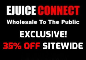 Ejuice Connect: 35% Off Sitewide (USA Exclusive) - Blowout E-Juice Prices!