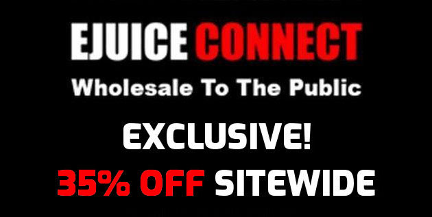 Ejuice Connect: 35% Off Sitewide (USA Exclusive) - Cheap