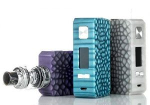 Eleaf Saurobox 220W Mod & Free Cylin RTA $15.99