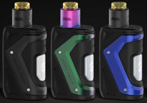 GeekVape Aegis Squonker 10mL/100W Waterproof Box Mod $36.14 | RDA Kit $46.18