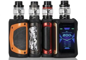Geekvape Aegis X 200W Waterproof Box Mod $35.04 | Mesh Kit $50.99