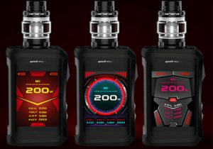 Geekvape Aegis X: 200W Waterproof Box Mod $42.86 | Kit $55.97