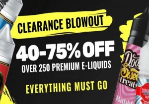 Last Chance! Ejuice.Deals: Up To 75% Off &  Exclusive 20% Off Sitewide (USA)